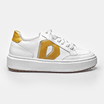 SNEAKER DIAMOND - White & Yellow